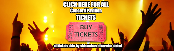 concord pavilion tickets