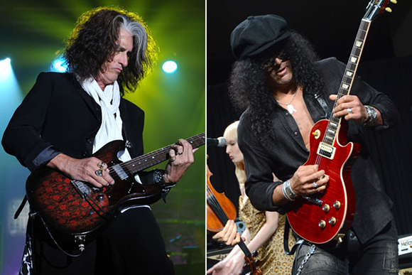 Aerosmith & Slash at Concord Pavilion