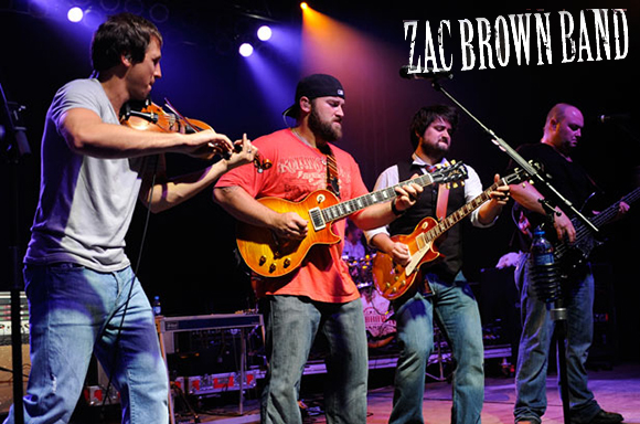 Zac Brown Band at Concord Pavilion