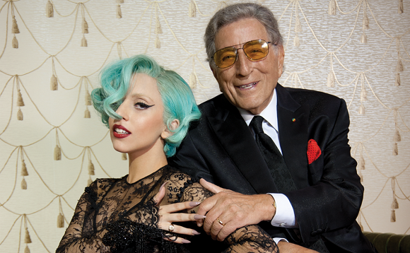 Tony Bennett & Lady Gaga at Concord Pavilion