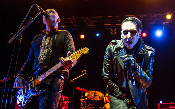 Smashing Pumpkins & Marilyn Manson at Concord Pavilion