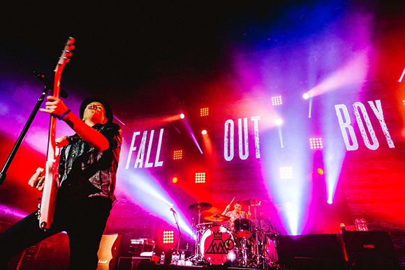 Fall Out Boy, Wiz Khalifa & Hoodie Allen at Concord Pavilion