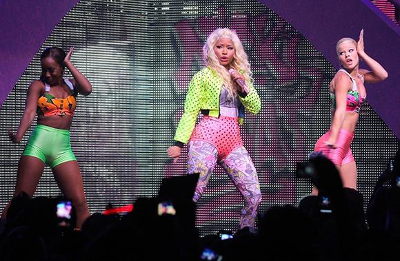 Nicki Minaj, Meek Mill & Rae Sremmurd at Concord Pavilion