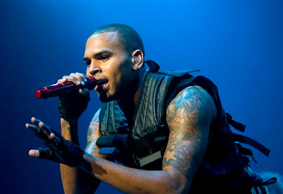 Chris Brown, Kid Ink & Omarion at Concord Pavilion