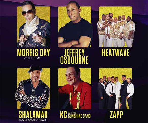 KBLX Stone Soul Concert: Morris Day and The Time, Jeffrey Osborne & Heatwave at Concord Pavilion