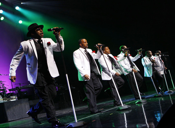 New Edition & Kenny Babyface Edmonds at Concord Pavilion