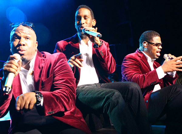 Hot Summer Night: Boyz II Men, En Vogue, K-Ci and JoJo & Ginuwine at Concord Pavilion