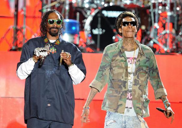 Snoop Dogg, Wiz Khalifa, Kevin Gates & Jhene Aiko at Concord Pavilion