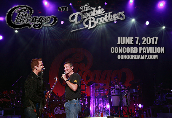 Chicago - The Band & The Doobie Brothers at Concord Pavilion