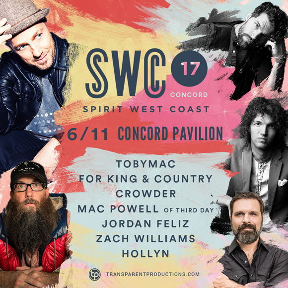 Spirit West Coast Festival: TobyMac & For King and Country at Concord Pavilion