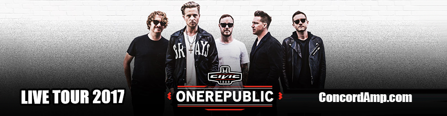 OneRepublic, Fitz and The Tantrums & James Arthur at Concord Pavilion