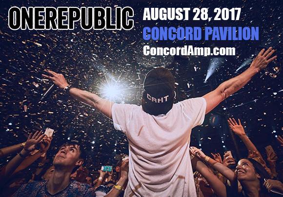OneRepublic, Fitz and The Tantrums & James Arthur at Concord Pavilion