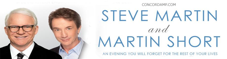 Steve Martin & Martin Short at Concord Pavilion