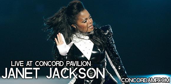 Janet Jackson at Concord Pavilion