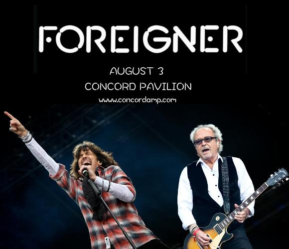 Foreigner & Whitesnake at Concord Pavilion