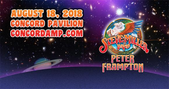 Steve Miller Band & Peter Frampton at Concord Pavilion