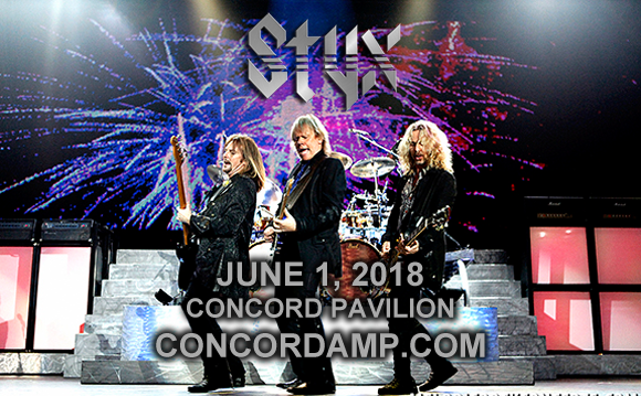 Styx, Joan Jett, The Blackhearts & Tesla at Concord Pavilion