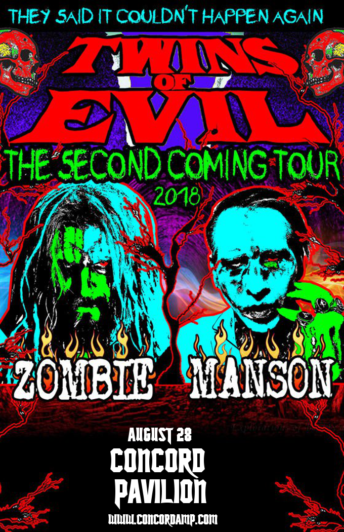Rob Zombie & Marilyn Manson at Concord Pavilion