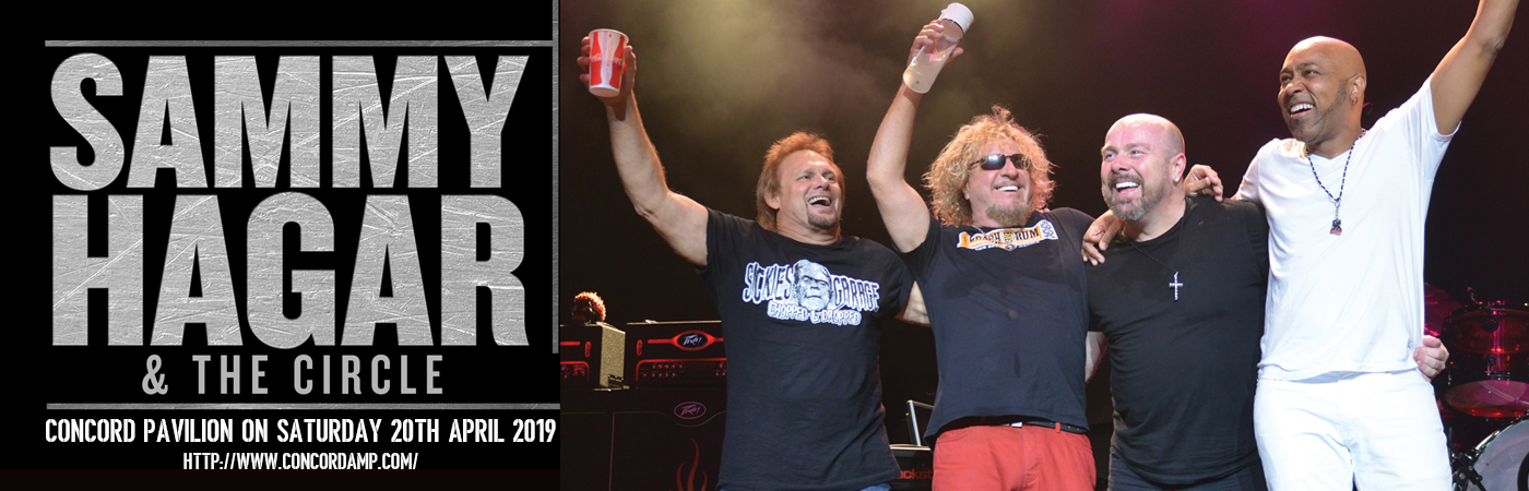 Sammy Hagar and the Circle at Concord Pavilion