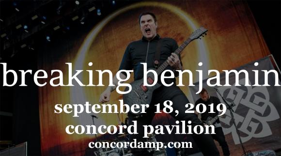 Breaking Benjamin at Concord Pavilion