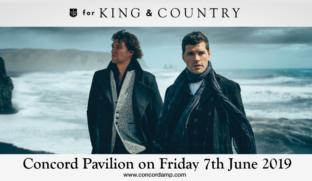 For King and Country at Concord Pavilion