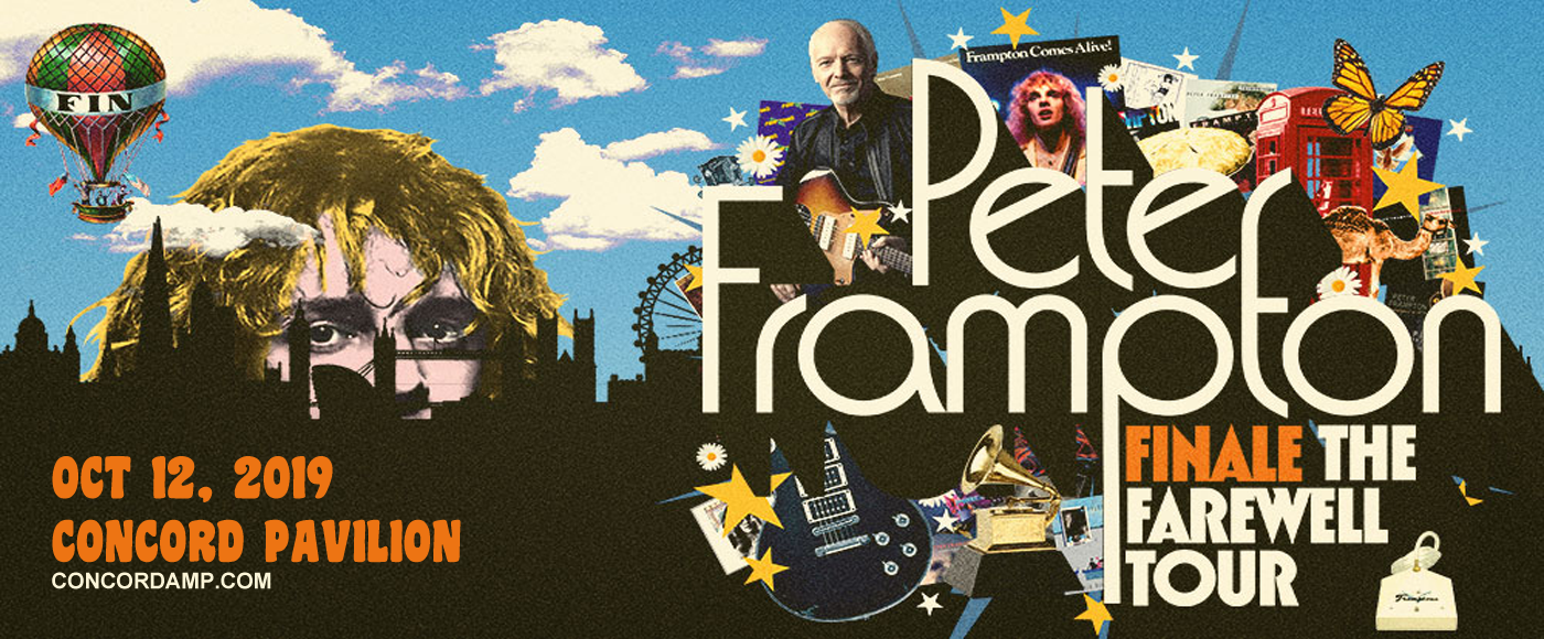 Peter Frampton at Concord Pavilion