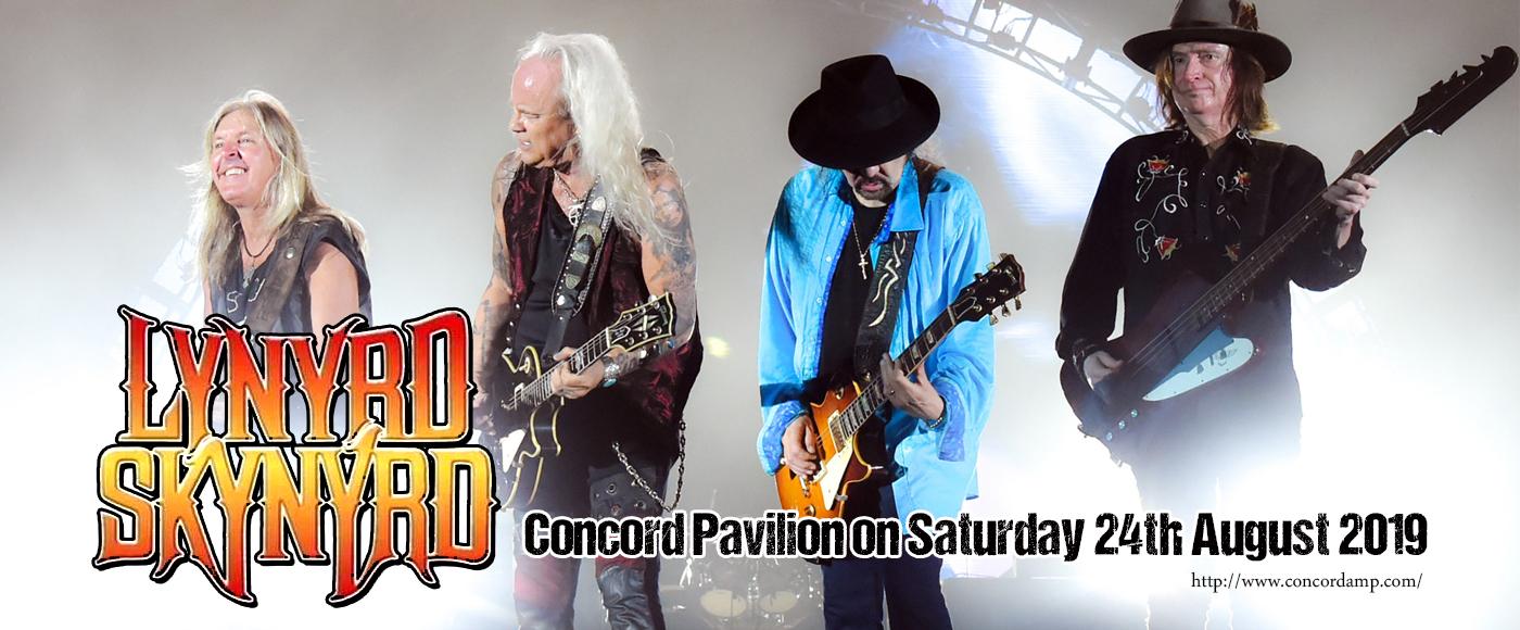 Lynyrd Skynyrd at Concord Pavilion