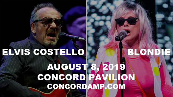 Elvis Costello & Blondie at Concord Pavilion