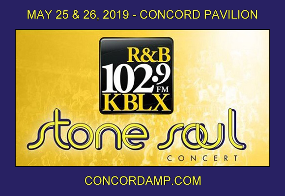 KBLX Stone Soul Concert: Maze, Frankie Beverly & Cameo - Sunday Pass at Concord Pavilion