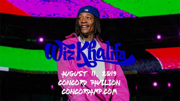 Wiz Khalifa & French Montana at Concord Pavilion