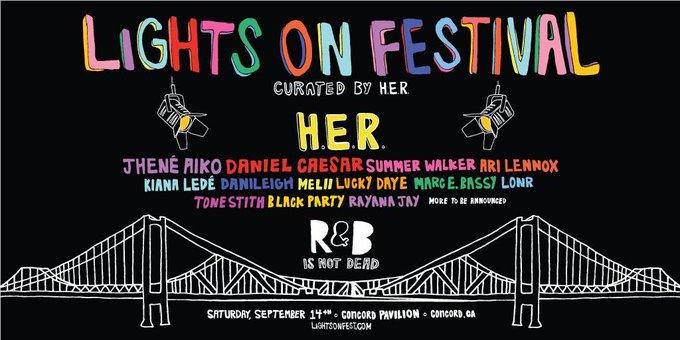 Lights On Festival at Concord Pavilion