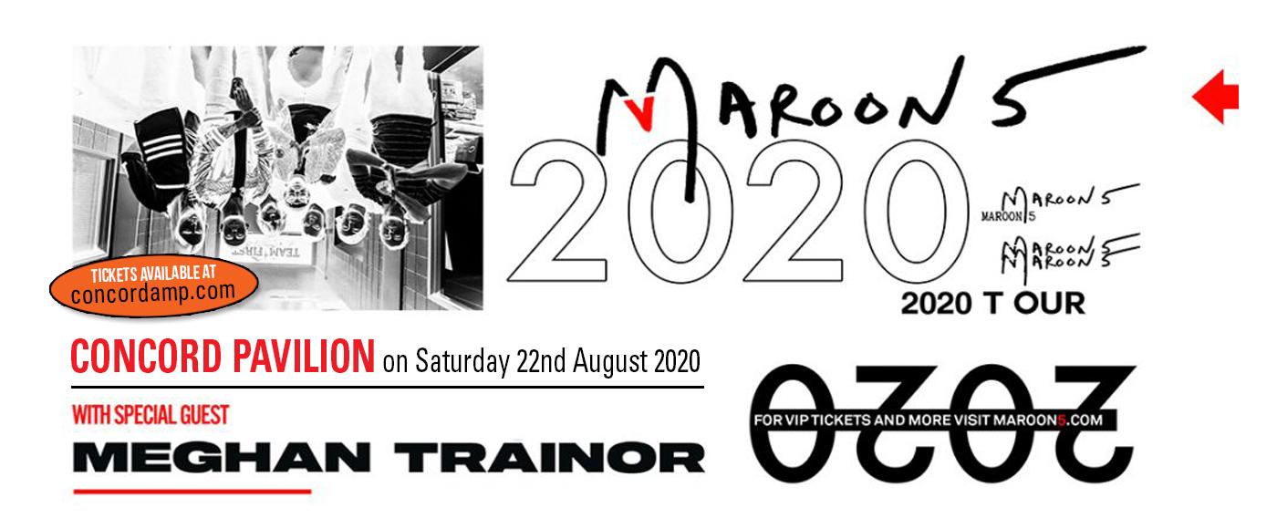 Maroon 5 & Meghan Trainor at Concord Pavilion