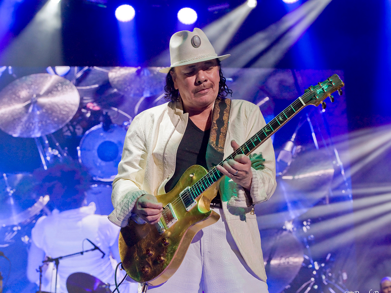 Santana & Earth, Wind and Fire at Concord Pavilion