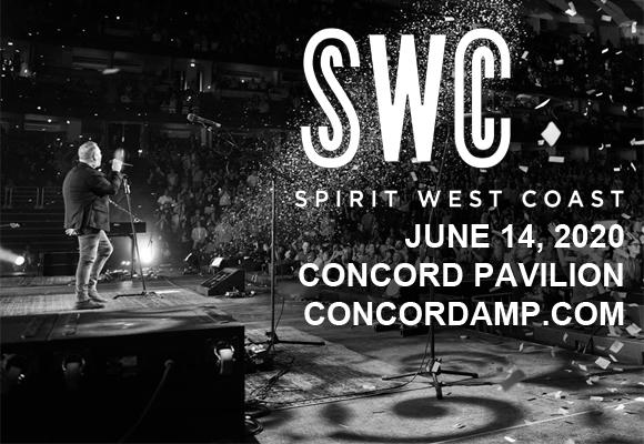 Spirit West Coast 2020: Chris Tomlin. Phil Wickham & Danny Gokey at Concord Pavilion