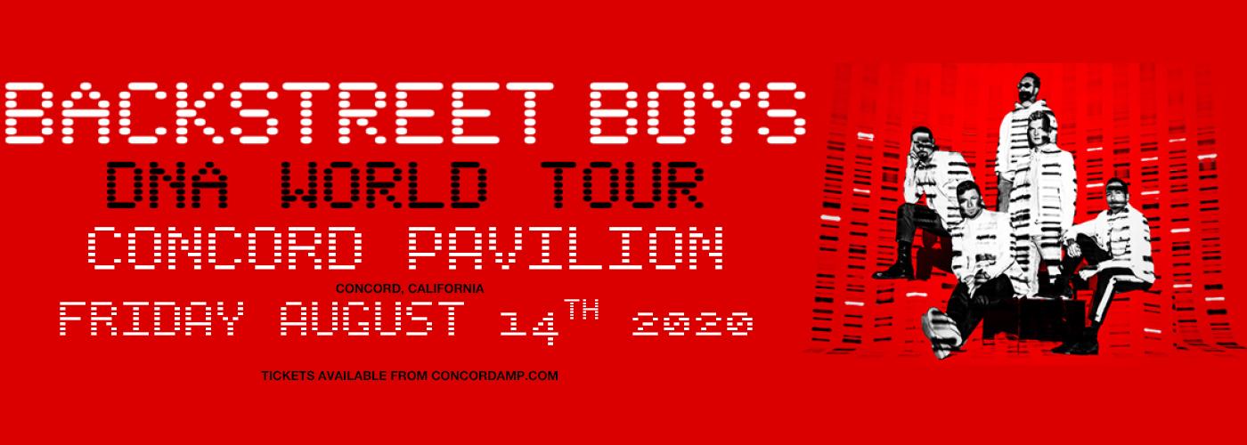 Backstreet Boys at Concord Pavilion