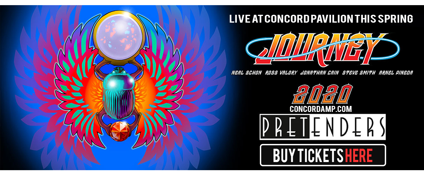 Journey & The Pretenders [CANCELLED] at Concord Pavilion