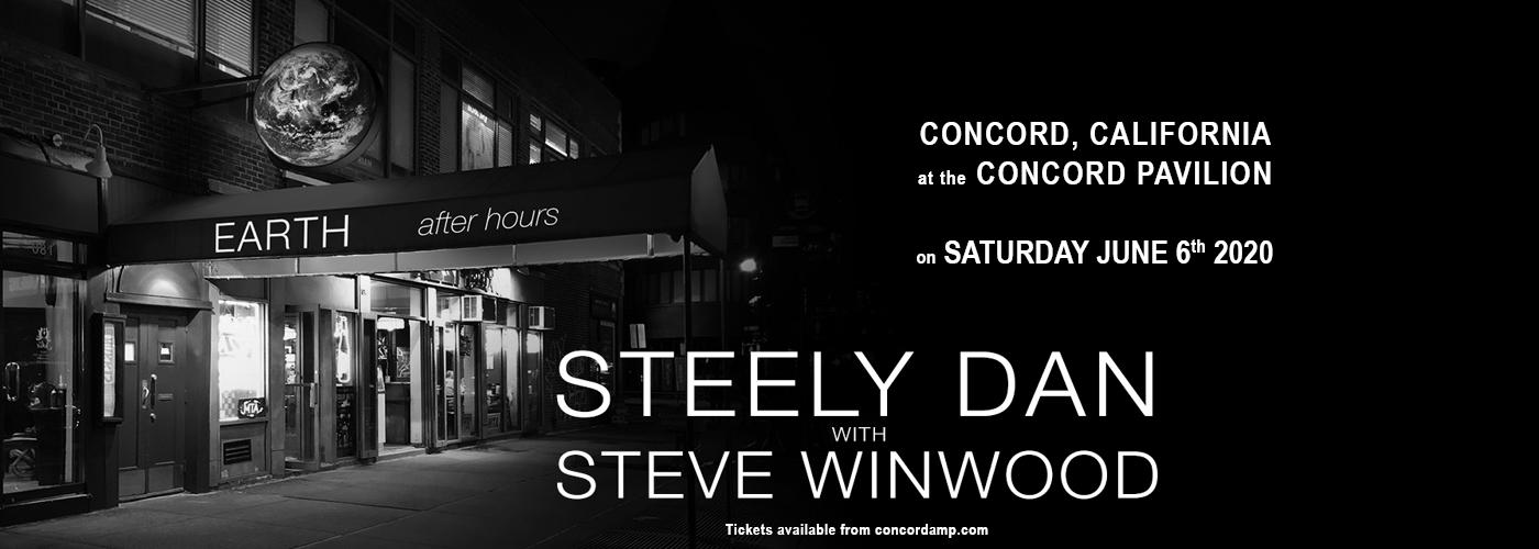 Steely Dan & Steve Winwood at Concord Pavilion