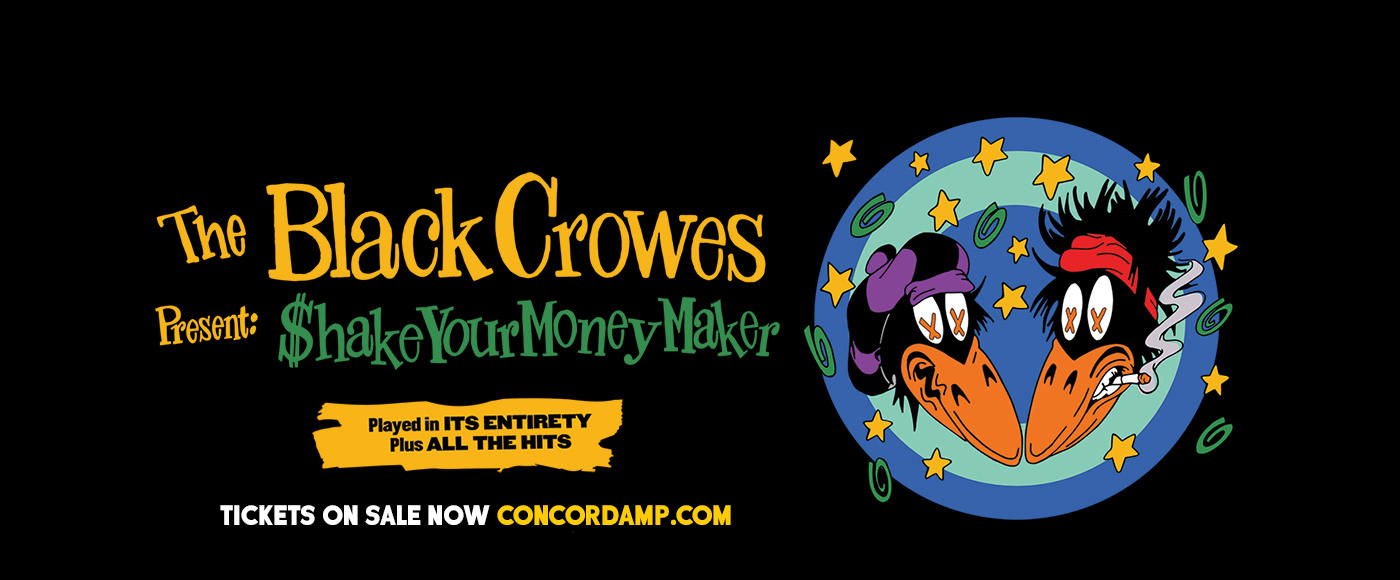 The Black Crowes [POSTPONED] at Concord Pavilion