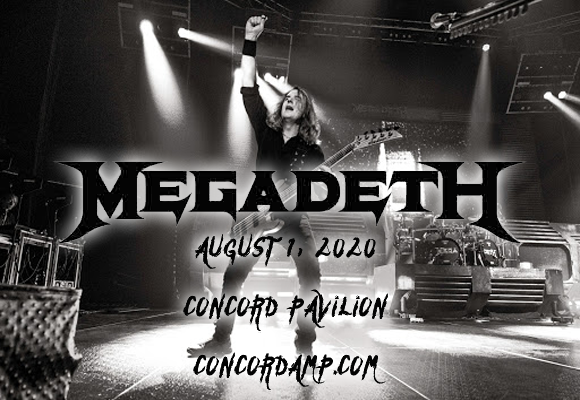 Megadeth & Lamb of God at Concord Pavilion