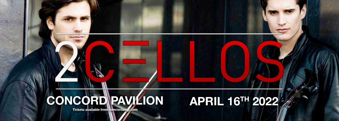 2Cellos at Concord Pavilion