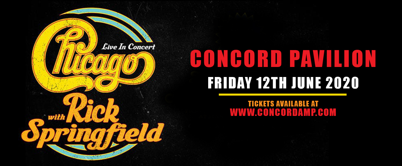 Chicago - The Band & Rick Springfield at Concord Pavilion