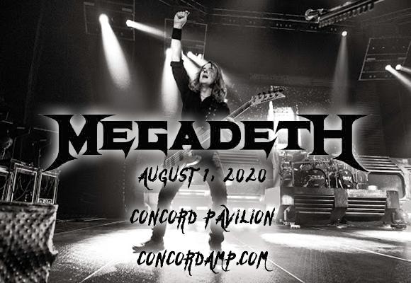 Megadeth & Lamb of God at Concord Pavilion