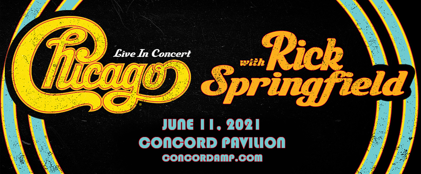 Chicago - The Band & Rick Springfield [CANCELLED] at Concord Pavilion