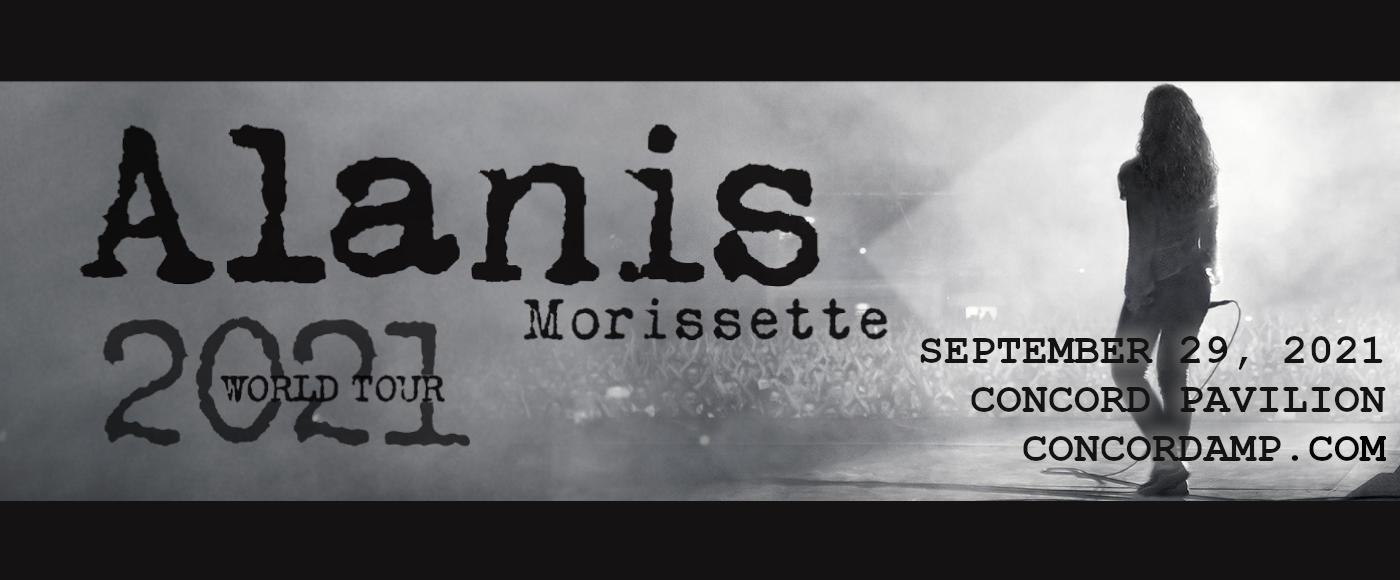 Alanis Morissette at Concord Pavilion