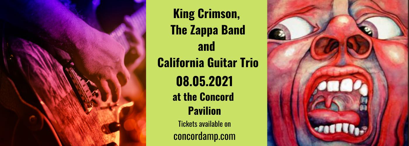 King Crimson, The Zappa Band & California Guitar Trio at Concord Pavilion