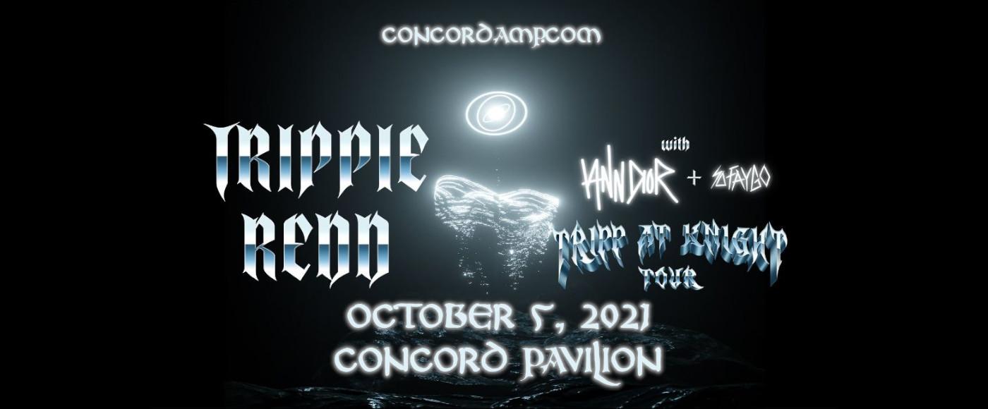 Trippie Redd at Concord Pavilion